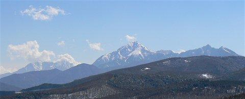 360度のパノラマ・入笠山スノーシュー_f0019247_22145513.jpg