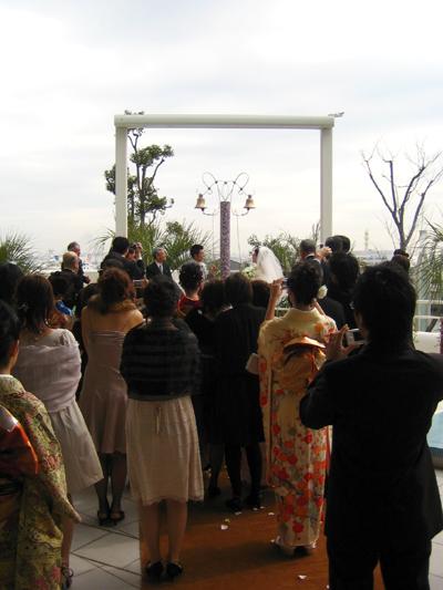 結婚式でした。_d0028499_17261964.jpg