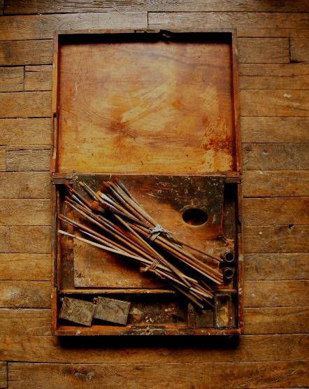 画家の道具箱  ―だれかのパレット2―_f0074803_6273587.jpg