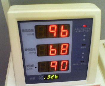 今日の血圧~_e0114246_15262315.jpg