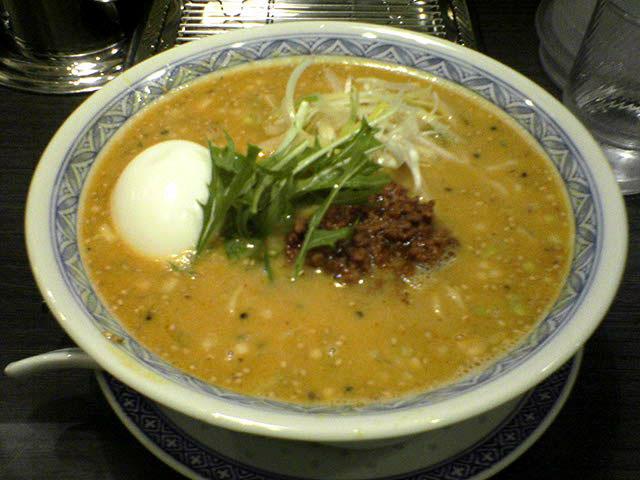 四川麺条 香氣 沼袋店 坦坦麺_a0016730_23173389.jpg