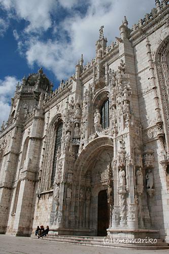 ジェロニモス修道院 ポルトガルの旅Vol.3_c0024345_20311537.jpg