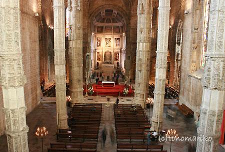 ジェロニモス修道院 ポルトガルの旅Vol.3_c0024345_20313935.jpg
