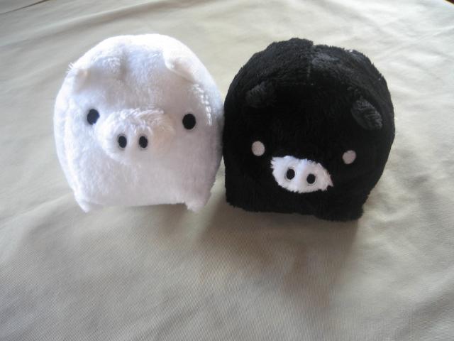 サーモンのミ・キュイとフワフワな豚~♪_b0077531_095444.jpg