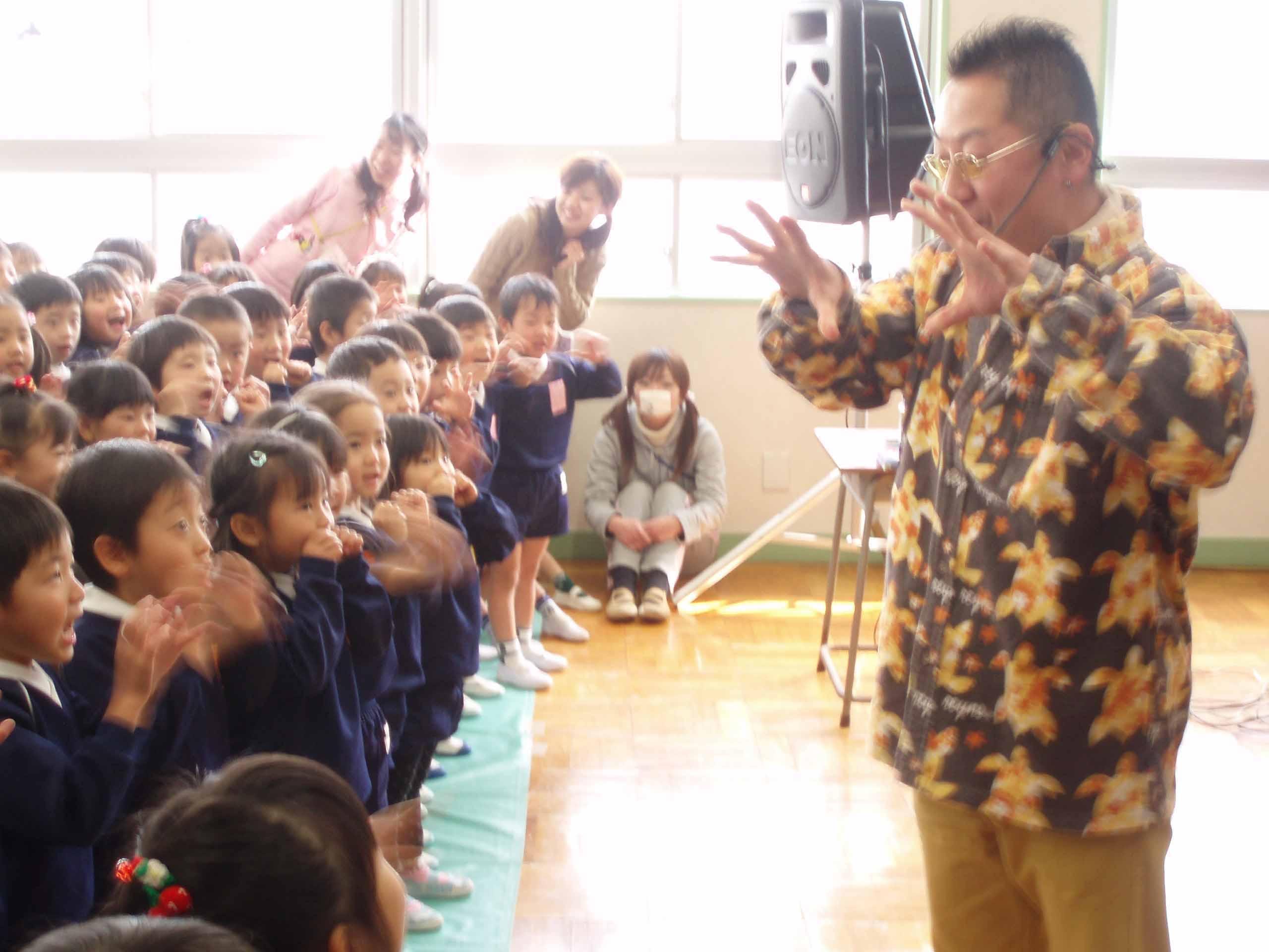 茨木西幼稚園 楽しかったヨー_f0118788_184441.jpg