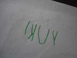 ユキちゃんからパパへのお手紙_f0106597_2252138.jpg