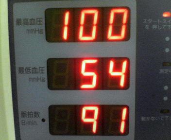今日の血圧~_e0114246_17232820.jpg