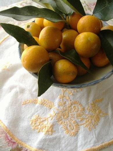 金柑と春野菜_f0082141_16304497.jpg
