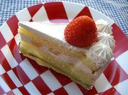苺のショートケーキ。_c0005672_20224490.jpg