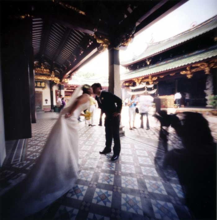 末永くお幸せに シアンホッケン寺院 シンガポール Pinhole Photography_f0117059_20561135.jpg