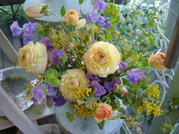 オークリーフ(卒園式のお花)_f0049672_14171189.jpg