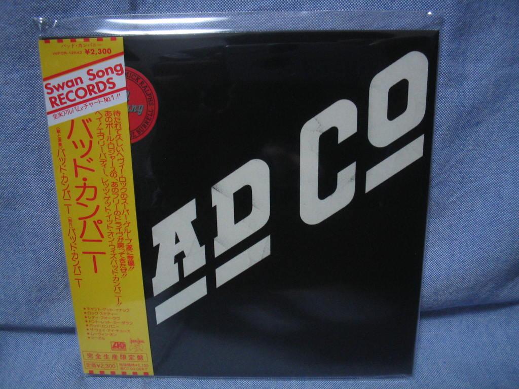 BAD COMPANY (紙ジャケ)_c0065426_21315197.jpg