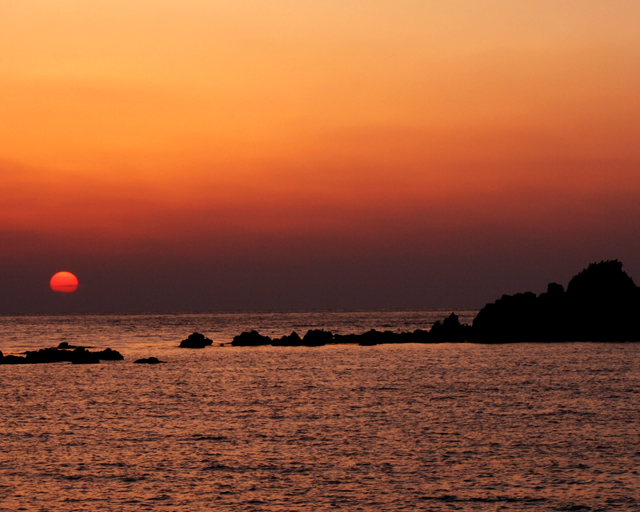 壁島の夕陽_d0074828_22533751.jpg