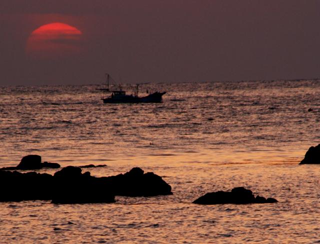 壁島の夕陽_d0074828_22563721.jpg