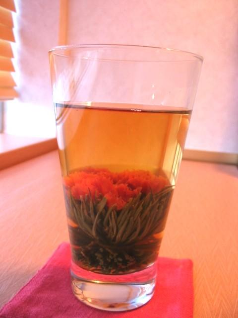 カーネーションの花茶_a0091095_19113426.jpg