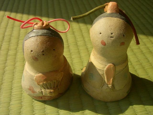 おひなさまの陶人形_f0018417_3514373.jpg