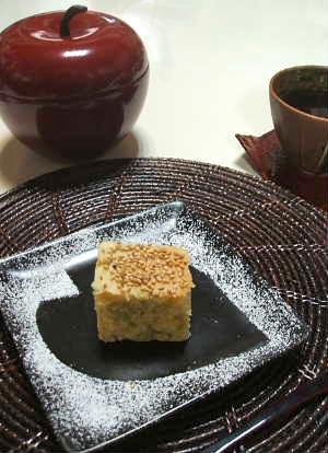 枝豆と高野豆腐のケーキ_e0086864_22321962.jpg