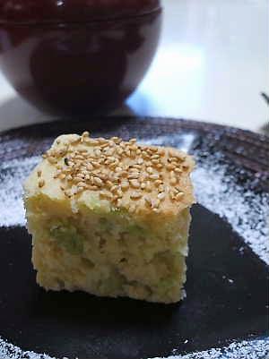 枝豆と高野豆腐のケーキ_e0086864_2232673.jpg