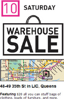 倉庫で在庫セール - Housing Works Warehouse Sale_b0007805_20434330.jpg