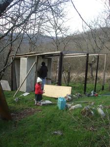 トリ小屋作り再開しました_f0106597_210719.jpg