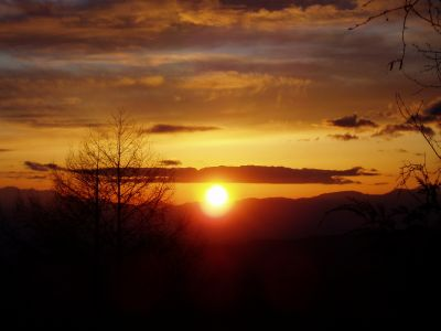 今日の夕日です。_d0102327_221214.jpg