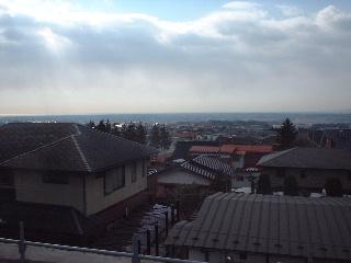 海が見える現場の屋根~~♪_f0031037_1793529.jpg