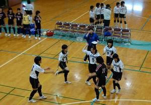 練習試合【バレーボール】_d0010630_9321599.jpg