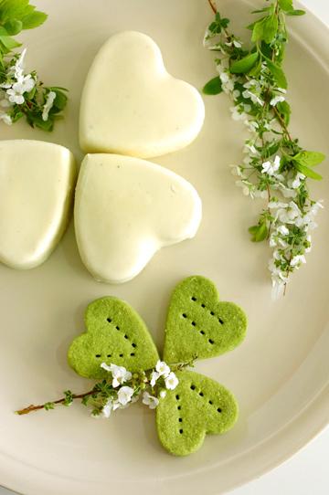 ... more authentic Irish flavors: it's what I call Irish Mint Cheesecake