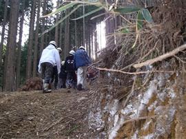中学生の林業体験_e0002820_16593030.jpg