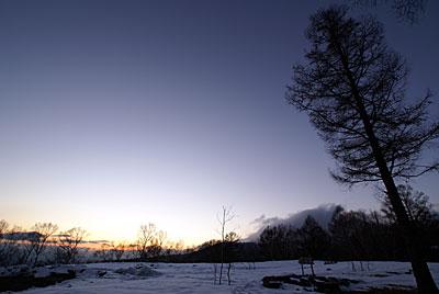 今日の夕暮れもきれいでした_d0102327_2235124.jpg