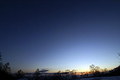 今日の夕暮れもきれいでした_d0102327_225277.jpg