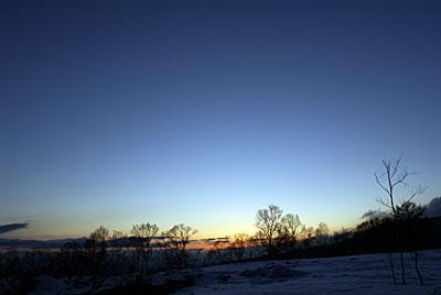 今日の夕暮れもきれいでした_d0102327_2255971.jpg