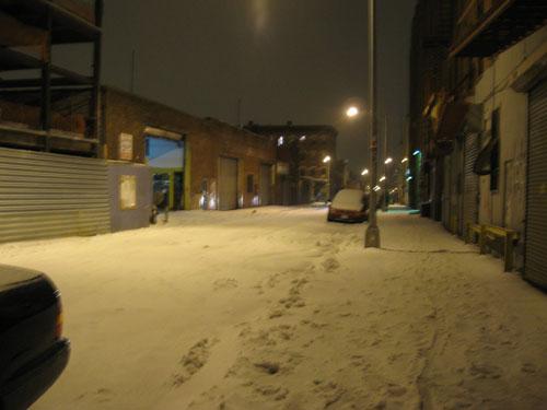 ~There\'s No Place Like NY~ Vol 5 - 大雪のNY_c0096440_1647073.jpg