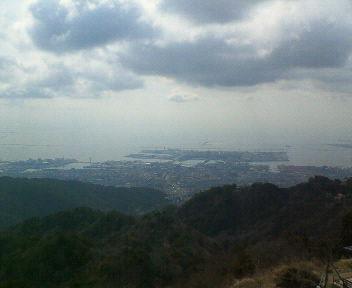 六甲山頂から_b0023824_10465116.jpg