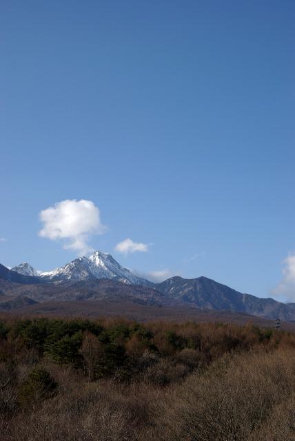 ホテルの屋上より山を眺める_e0063851_11294028.jpg