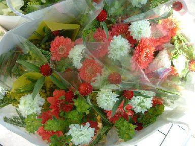 オークリーフ(卒園式の花束)_f0049672_17134561.jpg
