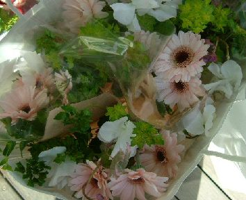 オークリーフ(卒園式の花束)_f0049672_1714761.jpg