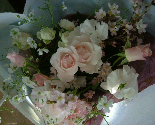 オークリーフ(卒園式の花束)_f0049672_17165060.jpg