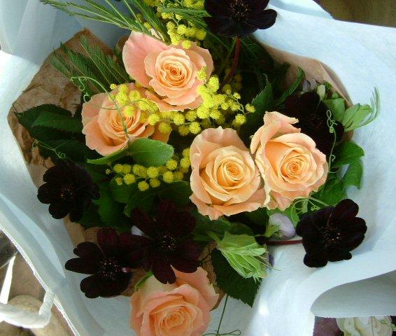 オークリーフ(卒園式の花束)_f0049672_17165799.jpg