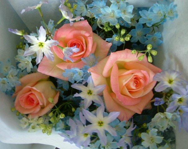 オークリーフ(卒園式の花束)_f0049672_17171160.jpg