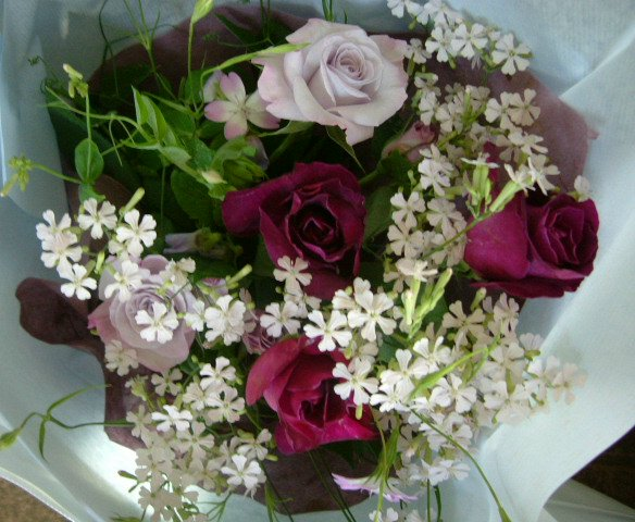 オークリーフ(卒園式の花束)_f0049672_1717433.jpg