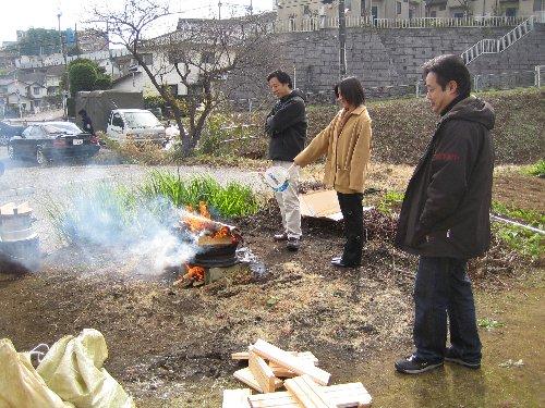 2006 Log Jizo Festival【冬】 No1_c0038619_1973443.jpg