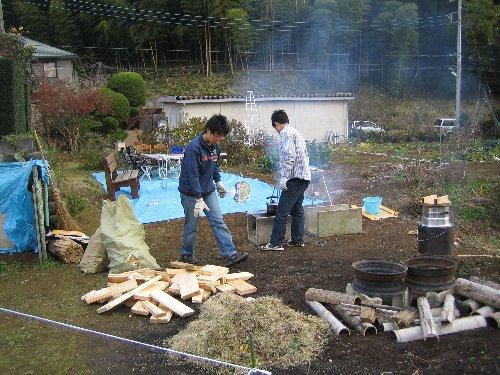 2006 Log Jizo Festival【冬】 No1_c0038619_1981517.jpg