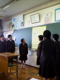 藤島中学校の生徒さんです!_f0067122_17444573.jpg