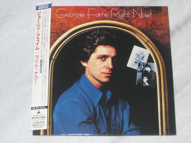GEORGIE FAME / Right Now!(紙ジャケ)_b0042308_0293716.jpg