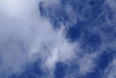 氷点下14℃でも空は春色になりました_d0102327_2047548.jpg
