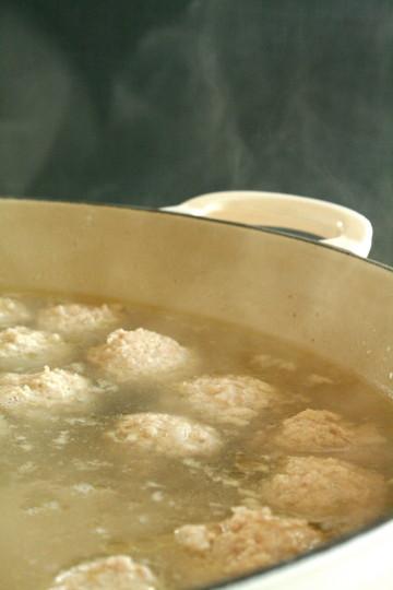 ナンコツ入りつくねの鶏スープ_d0004651_824679.jpg