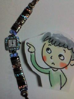 シュウリシュウリ/ My wristwatch_d0090888_22254224.jpg