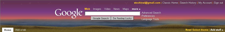 Personalized Google Home にテーマが誕生_c0025115_223545.jpg