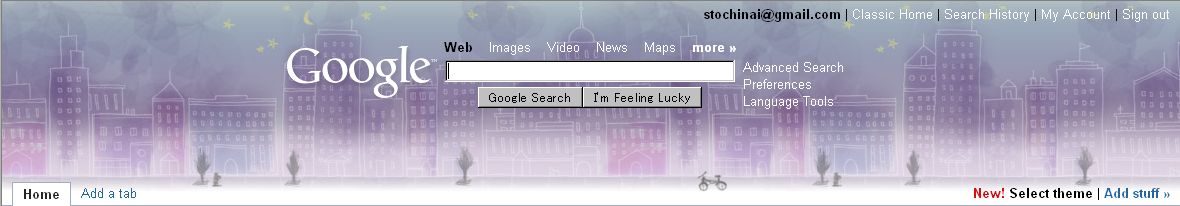 Personalized Google Home にテーマが誕生_c0025115_2253058.jpg